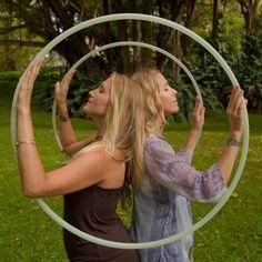 Hoops as healing circles.