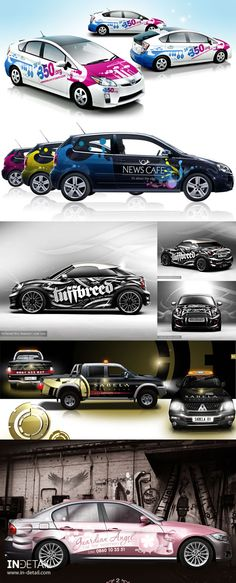 #carwrapping #wrap #vehicle #Inspiration #Autobeklebung #Autofolierung #Folie #Design Car Stickers, Car Decals, Car Lettering, Vehicle Signage, Cool Wraps, Carbon Fiber Vinyl, Custom Paint Jobs, Car Gadgets, Car Advertising