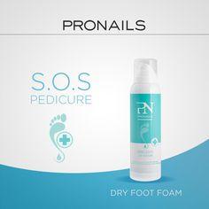 Scotta la sabbia scotta ☀ Dry Foot Foam, la formula idratante ad alta intensità! #ProNails #ProNailsItalia #Footcare #SosPedicure