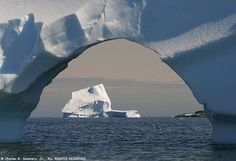 Iceberg through an iceberg arch _MG_0282 | Flickr - Photo Sharing!