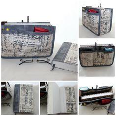 Organizador de mala e capa de livros Ref. Musical