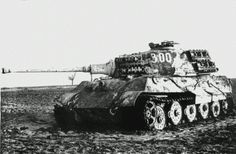 Tiger II.  One cannot truly appreciate how massive one of these tanks are.. until you've seen one up close.