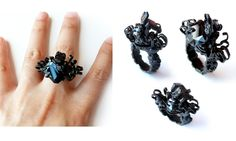 JICHANG CHAI-UK-Ring: Deadline 2013Brass; ,CZ, copper, pebble4,5 x 2,5 x 1 cmRuin series