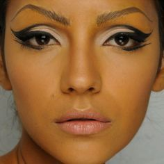 halloween winged makeup - Google Search