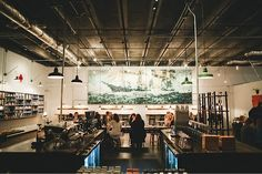 The epic mural at Barista Parlor in Nashville. | 31 Coffeeshops And Cafés You Wish You Lived In
