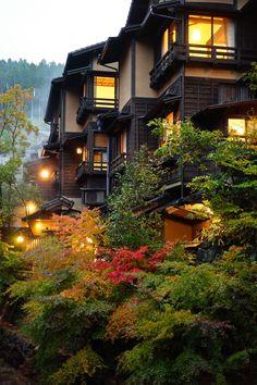 Strong but clean architecture. Kumamoto, Kyushu, Cultural Architecture, Japanese Architecture, Japan Nature, Japan Kultur, Kurokawa Onsen, Beautiful World, Beautiful Places