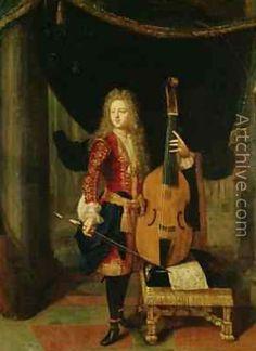 NETSCHER Constantijn Portrait of Johann Schenck (Bridgeman Art Library Collections)