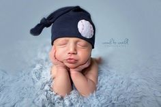 baseball hat, knot beanie, mlb baby, hospital hat, photography prop, baby boy hat, newborn hat, KNOTS