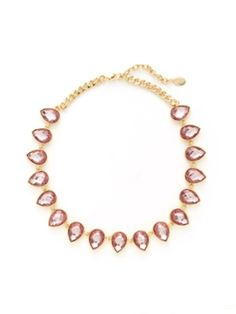 Teardrop Station Collar Necklace from Pink is the New Black on Gilt