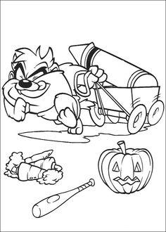 Disegni da colorare Baby Looney Tunes 80