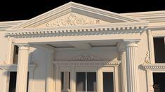 Coloane romane salon nunti intrare Venus, Palace, Garage Doors, Exterior, Outdoor Decor, House, Design, Home Decor, Decoration Home
