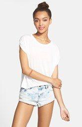 Volcom 'Yae' Denim Cutoff Shorts