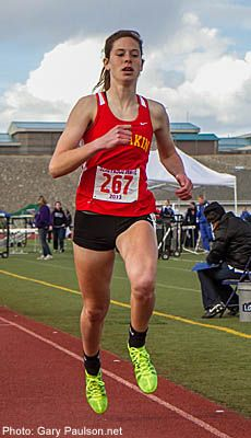 Kamiakin's Beauchene Breaks Out In the Mile | Running Times  -- 50 mile weeks in the summer...