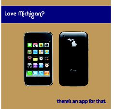 Love Michigan? There's an app for that!  Sweet! @Judy Stachnik sweet case for your iPhone!