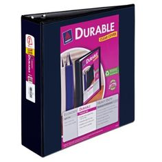 """Avery Durable Binder. """"For any of you who might be considering, like me, purchasing this binder based on the reviews, let me just point out one glaring omission: While this is a lovely, multi-purpose binder, IT DOES NOT COME WITH WOMEN."""""""