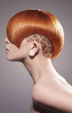 Pantern copper Hair color