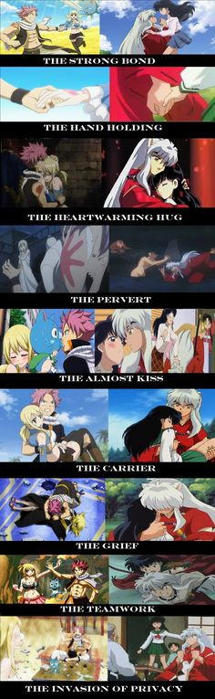 Inukag and Nalu are more similar than I think anyone seems to realize. Because they're so similar is why I know for that Nalu is going to become an. Nalu And InuKag Fairy Tail Ships, Fairy Tail Meme, Fairy Tail Quotes, Fairy Tail Natsu And Lucy, Fairy Tail Nalu, Got Anime, Manga Anime, Fairy Tail Family, Fairy Tail Couples