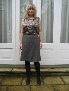 skirt is vogue 8647 ; shirt is Simplicity 2599