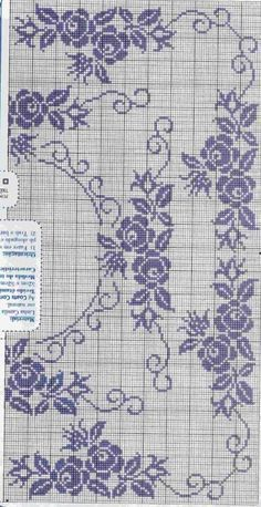 Crochet Doily Patterns, Crochet Doilies, Leather Bag Tutorial, Filet Crochet, Needle And Thread, Needlework, Projects To Try, Cross Stitch, Embroidery