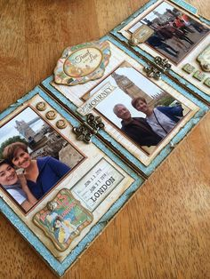 Annette's Creative Journey: a Photo Triptych Display wiht Come Away with Me #graphic45 #scrapbookadhesivesby3L #bloghop