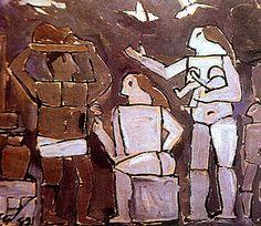 PINTORES LATINOAMERICANOS-JUAN CARLOS BOVERI: pintores uruguayos: torres garcía joaquín