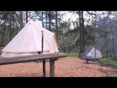 Guy Mallinson on Crafty Camping - Glamping with Sawday's Canopy & Stars. Master craftsman and woodworker, shares his thoughts on Crafty Camping - his wonderful woodland workshop. Canopy And Stars, Camping Glamping, In The Tree, Outdoor Gear, Craftsman, Woodland, Tent, Workshop, Shots