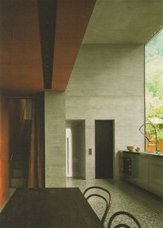 UCA firstyear: Peter Zumthor