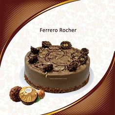 Delicious Ferrero Rocher Cake Order online @ http://www.daleseden.com/UserPages/ProductDetails.aspx?id=FR01