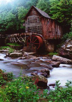 glade creek grist mill | Flickr - Photo Sharing!