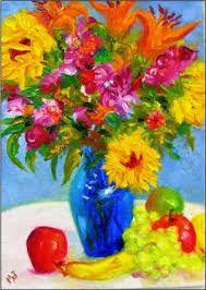 vase of flowers - Пошук Google