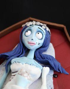 Sprinkle Bakes: Corpse Bride Blue Velvet Cake - Complete Tutorial