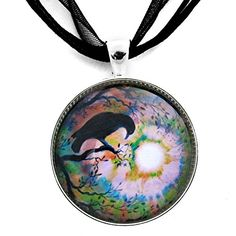 Raven Pendant Crow Necklace Moon Handmade Boho Bird Jewelry Silhouette Moonlit Swirl Autumn Tree Branches  http://stylexotic.com/raven-pendant-crow-necklace-moon-handmade-boho-bird-jewelry-silhouette-moonlit-swirl-autumn-tree-branches/