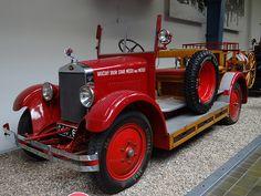 1930 Škoda 154 Fire Engine | 22 July 2012, Prague, Czech Rep… | Flickr