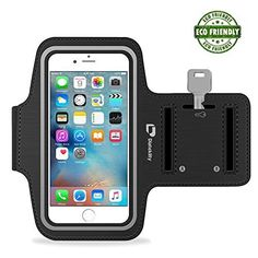 #cellphone #accessries Waterproof Sports Phone Armband with Key Holder for iPhone- Good for Hiking, Biking Running - with Reflective Strip…