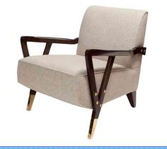 Love this chair from Studio Van Den Akker.  This is a Brown Davis Interiors pick.