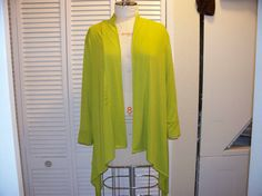 Slouchy sweater in jersey fabric by Yoyce on Etsy, $40.00