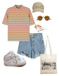 """""""Untitled #633"""" by abbygbrewer on Polyvore featuring Chicnova Fashion, NIKE, Borders&Frontiers and Ray-Ban"""