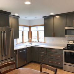 Sherwin Williams Dorian Gray Cabinets Urbane Bronze