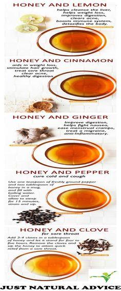HONEY AND LEMONTO DETOXIFY Recipe: Juice from 1/2 of a fresh lemon 1 teaspoon of
