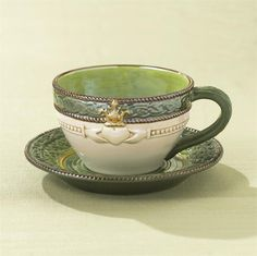 Celtic Tea Cup & Saucer with Irish Blessing
