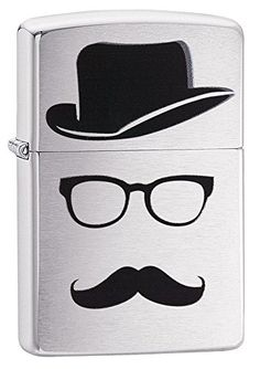 Zippo Faceless Pocket Lighter Brushed Chrome *** Want additional info? Click on the image.