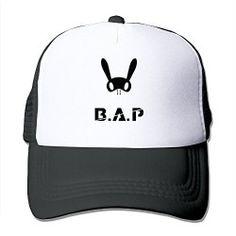 A.P Kpop Mesh Back Cap Black For Adult Cool Baseball Caps 101e1f28e