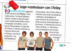 Finley su TV sorrisi e canzoni... UNLEASH THE POWER!