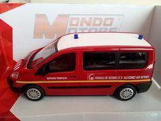 (v54) Voiture miniature 1/43 Peugeot Boxer Security Mondo Motor SAPEURS POMPIERS