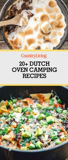 Campfire cooking can be so simple thanks to these dutch over camping recipes.