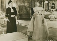 Judith Anderson and Joan Fontaine in Rebecca directed by Alfred Hitchcock, 1940