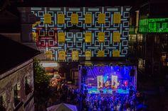 Einzigartiges Musik-, Licht und Straßenkunstfestival im Land Salzburg #JamesCottriall #Stadtzauber #Musik #Visuals #Strassenkunst #SanktJohann Salzburg, Unique, City, Music