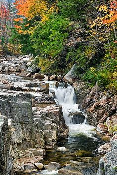 Rocky Gorge, White Mountains, New Hampshire... Along the Kancamagus Highway in New Hampshire.
