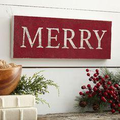 Merry Plaque