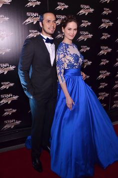 Kristine Hermosa and Oyo Boy Sotto at the Star Magic Ball